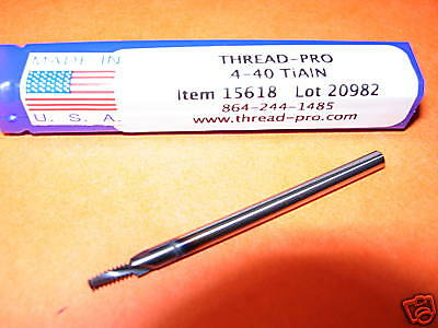 8-36 TiAlN coated Carbide Thread Mill 14562