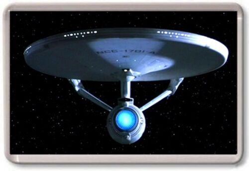 STAR TREK SHIPS FRIDGE MAGNET - Large Jumbo Kirk Spock Various Designs