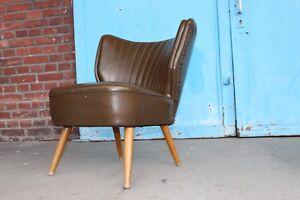 Details Zu Rockabilly 50er Jahre Sessel Cocktailsessel Lounge Sessel 50s Leder