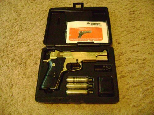Details about  /Vintage Crosman 1008 Limited Edition Gold 45 ACP 4566//10000 made.