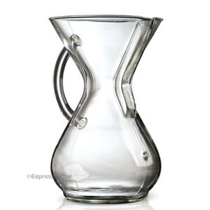 Image Is Loading Chemex Gl Handle 8 Cup Cm 8gh Coffee