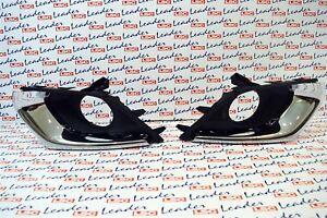 Genuine Vauxhall Corsa E-Lato Sinistro Luce Antinebbia Griglia /& Chrome Inserisci-NUOVO