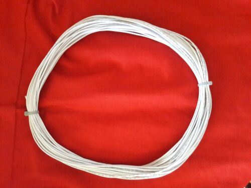 100 Feet of Alarm Wire 22//2 solid copper with White jacket New Fast Shipping