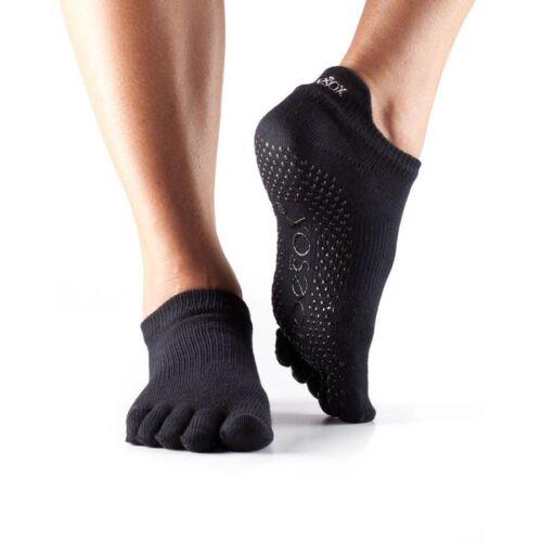 ToeSox Full Toe Low Rise Grip Socks
