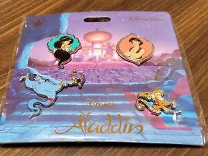 Walt Disney Aladdin Movie Pins 2 Assorted