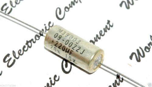 220µf 10v t262d227m010ms Axial Tantalio capacitor-kondensator 2pcs-kemet 220uf