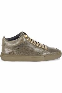 MASON-GARMENTS-Tia-Mid-Pitone-Forest-Green-Sneakers-rrp-250-UK-8-EU-42-LG05-15