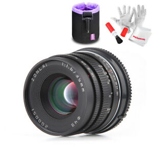 Zonlai-35mm-f1-6-Manual-Lens-for-Sony-E-Mount-Mirrorless-A3000-A6000-A6300-A6500