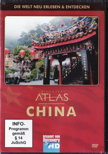 1 von 1 - Discovery Channel - Atlas: China - DVD - Neu und originalverpackt in Folie