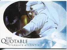 Stargate Atlantis Season 1 The Quotable Chase Card Q15