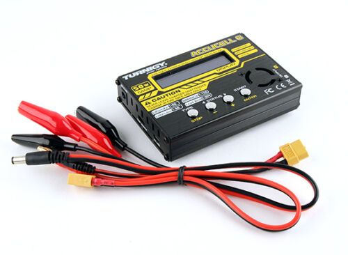 Balancer Charger 50W 6A Battery Turnigy Accucel-6 Accucell LiPo LiFe NiMh LiHV