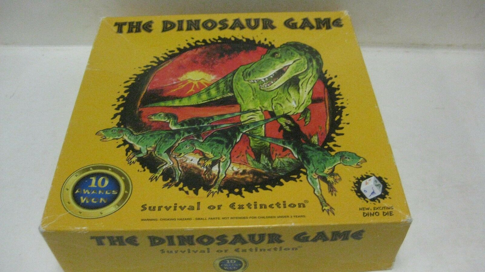 The Dinosaur Board Game 1996 Survival Or Extinction From Latz Chance Games gm276