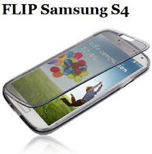 FLIP touch per Samsung Galaxy S4 GT i9505 i9500 cover custodia in silicone