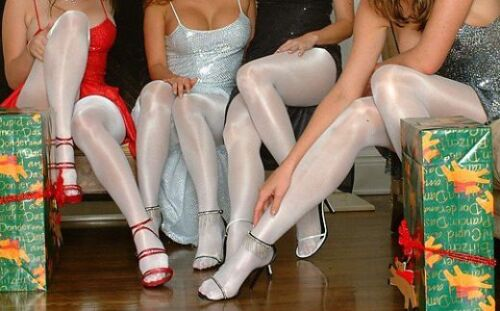 Peavey Gloss Shimmery Shiny Tights Pic Color B C D Q 13/% Spandex Hooters Uniform