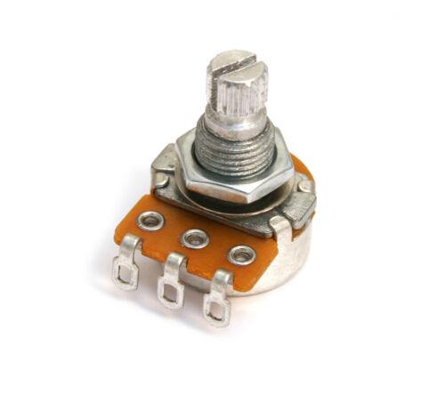 "007-4714-049 Fender Alpha 250K /""Dime-Sized/"" Mini Split Shaft Audio Taper Pot"