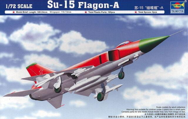 Trumpeter 01624 - 1:72 Su-15 Flagon-A - Neu