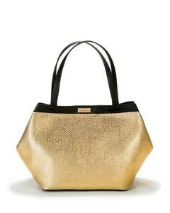 Image is loading Versace-Golden-Tote-Purse-Shopping-Beach-Weekender-Bag- 399b36212f