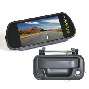 Details About Vardsafe Rear View Handle Reverse Backup Camera Kit For Ford F150 2005 2014