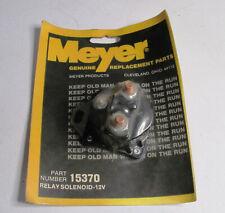 Genuine Meyer Snow Plow 3 Post Positive 12v Relay Solenoid 15370 New