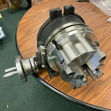 8 Horizontal Amp Vertical Rotary Table W Adapter Amp 6 4 Jaw Chuck In Tsl8 C6