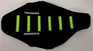 New Honda white Ribbed Seat cover CR125R CR125 CR250R CR250 2000-2008
