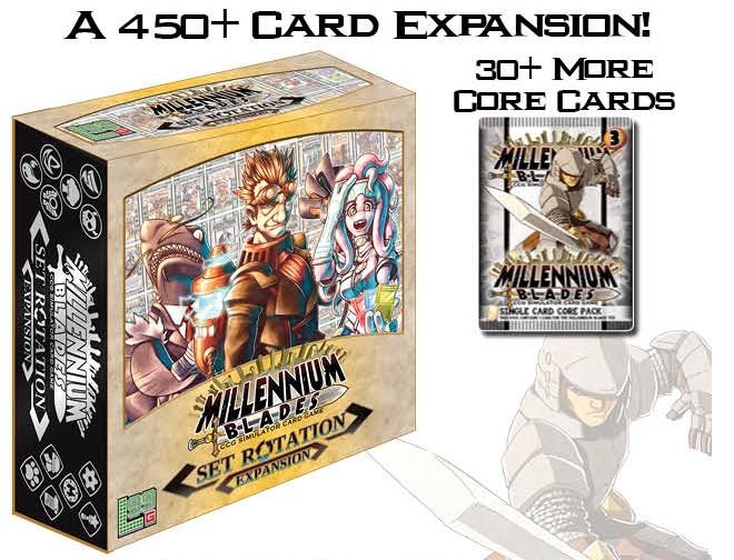 Millennium Blade - Crougever ENG expansion jeu de table neuf Eng