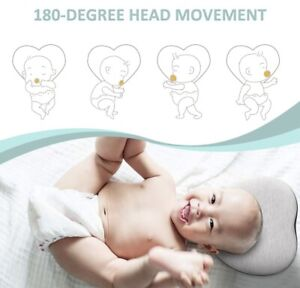 Alwoa Flat Head Baby Pillow Baby Head Shaping Pillow To Prevent Flat Head Ebay