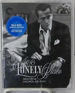 In-a-Lonely-Place-Blu-Ray-Disc-Criterion-May-2016-Film-Noir-B-W-Mystery-NR