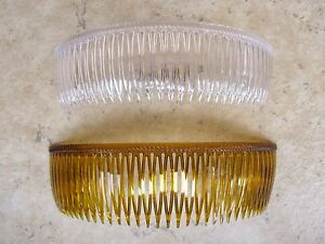 1ea-6-034-Grip-Tuth-Bridal-Side-Comb-Made-in-USA-Good-Hair-Days-Color-Choice-New