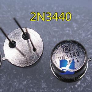 5-un-2N3440-tapa-de-metal-de-hierro-puede-insertar-Paquete-Nuevo