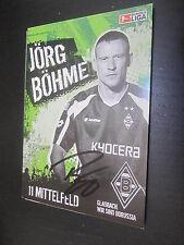 41527 Jörg Böhme Borussia Mönchengladbach original signierte Autogrammkarte