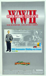 Dragon-Cyber-Hobby-Exclusive-WSS-Commander-German-WWII-1-6-Figure-NEW-Hans-70760