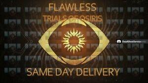 Trials of Osiris Guaranteed Flawless PS4/Xbox/PC