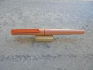 Fountain Pen (estilografica) Waterman Rosado Mod. Escolar De Los AÑos 90 New Avoir Un Style National Unique