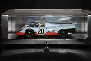 Porsche 917k N ° 20 Le Mans 1970 Golfe 1/43 Spark S1969