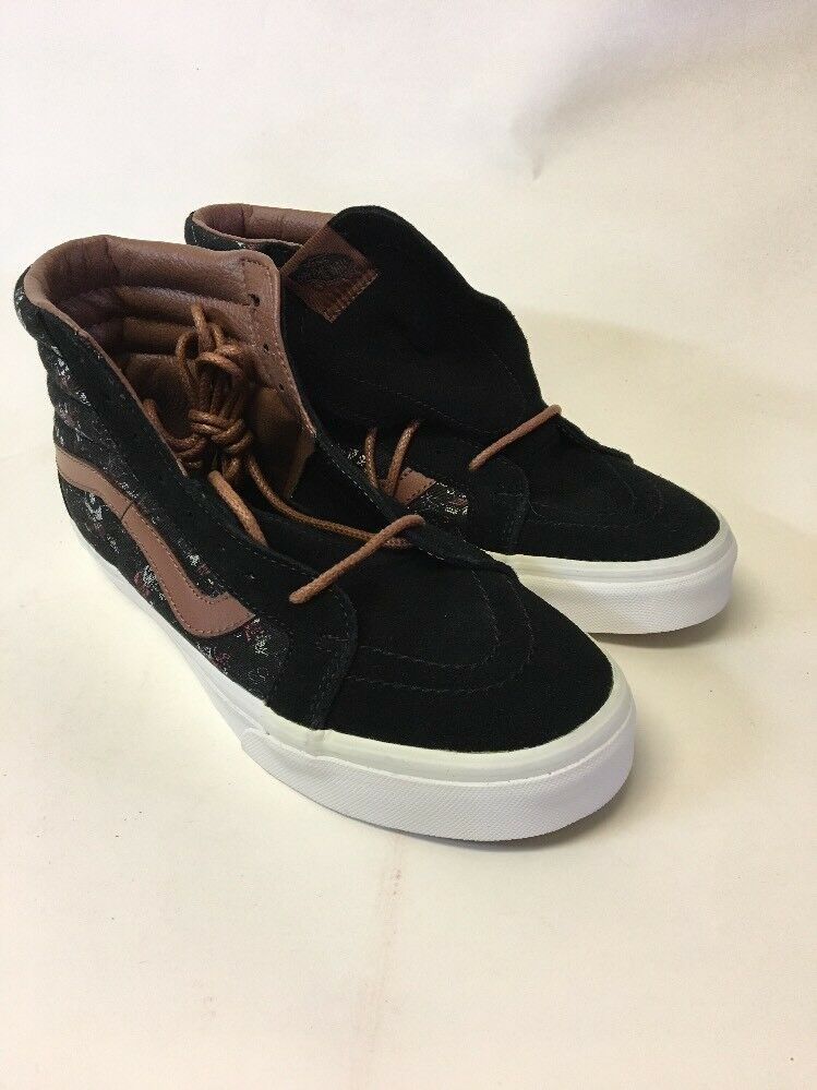 Vans Hi Top Skate Shoes Suede sneakers Style 721356 men's 8 women's 9.5 Suede Shoes Leather a1a35b