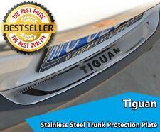 Rear Bumper Protector Sill Trunk Scuff Plate Trim For Volkswagen Tiguan 2010-15