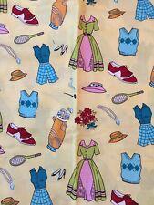 Michael Miller A Summer Day Mid Century Blue Water Monet fabric DC3944-BLUE-R