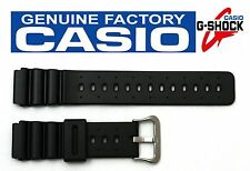CASIO G-Shock DW-6400C 20mm Original Black Rubber Watch BAND Strap