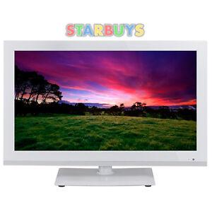 22-034-inch-White-12v-240v-Volt-LED-LCD-TV-DVD-Combi-Full-HD-1080p-Freeview-Record