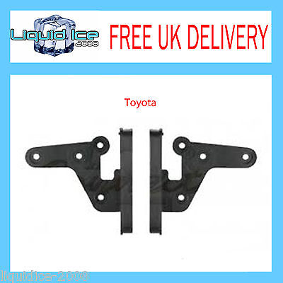 CT24TY09 TOYOTA RAV4 SIDE BRACKETS 2000 to 2006 FASCIA FACIA ADAPTER PANEL