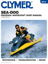 Sea-doo GSX GT GTI GTX GTS HS XP SP SPI SPX clymer repair//shop manual 1988-1996