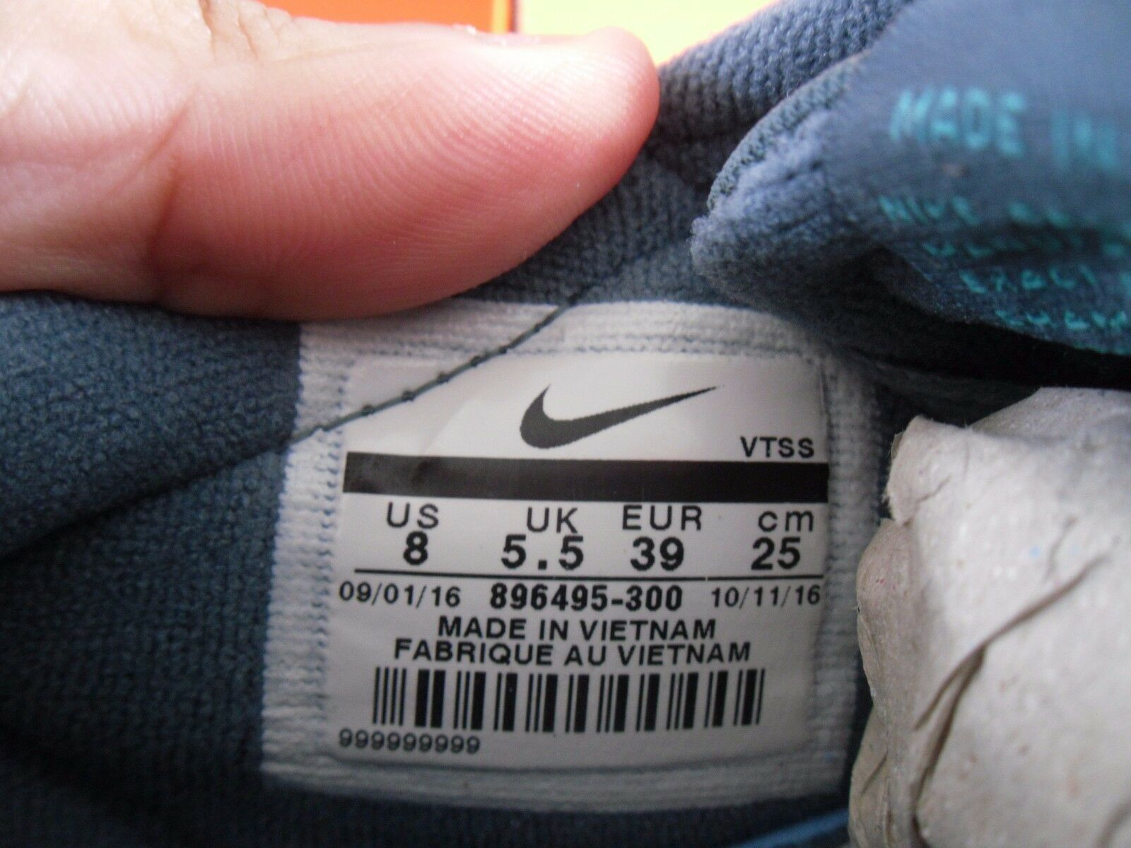 Wmns Wmns Wmns Nike Air Max cero LD-Zero 2009 2013 verde-verde Talla 8 32e4ec