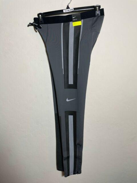 cera Astronave flaco  Nike Power Speed Flash Men's Running Tights Sz. Large Medium 800619 Black L  for sale online   eBay