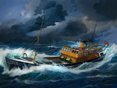 Nordsee Fisch Trawler Revell 05204 NEU