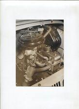 N°9128 / photo d'epoque moteur de la Dauphine Gordini