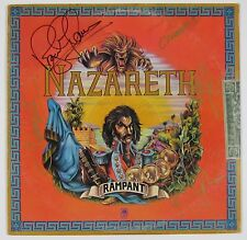 Nazareth Rampant Signed Autograph Record Album JSA Vinyl