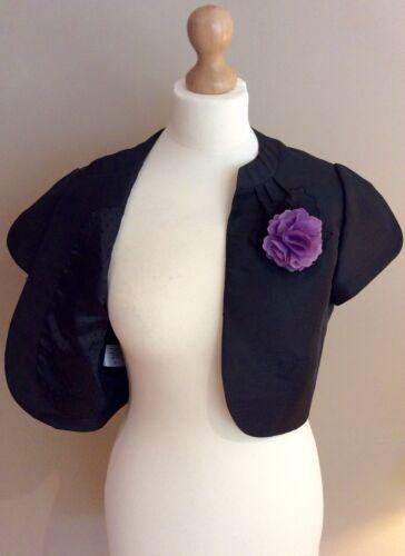 Casuals Størrelse 10 Black Bnwts Jacket Country Corsage Wedding Bolero 4q6BAwWdgZ