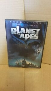 PLANET OF THE APES 2 DISC SPECIAL EDITION DVD Mark Wahlberg