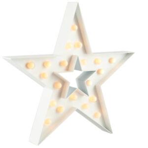 Stern-weiss-mit-20-LED-Leuchtkugeln-Batteriebetrieb-Weihnachtsstern-NEU